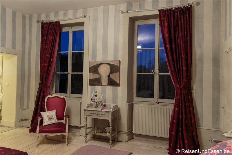 Gästezimmer im Le Jardin de Gustave in Ornans