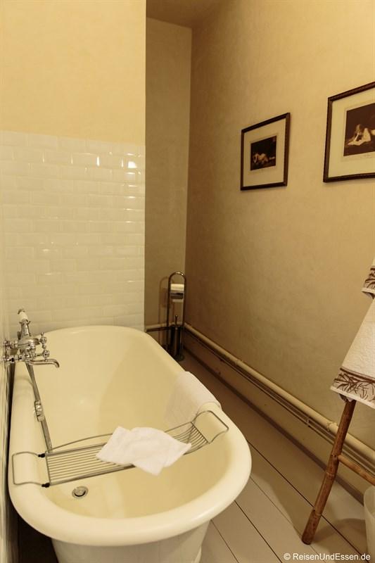 Badezimmer im Le Jardin de Gustave in Ornans