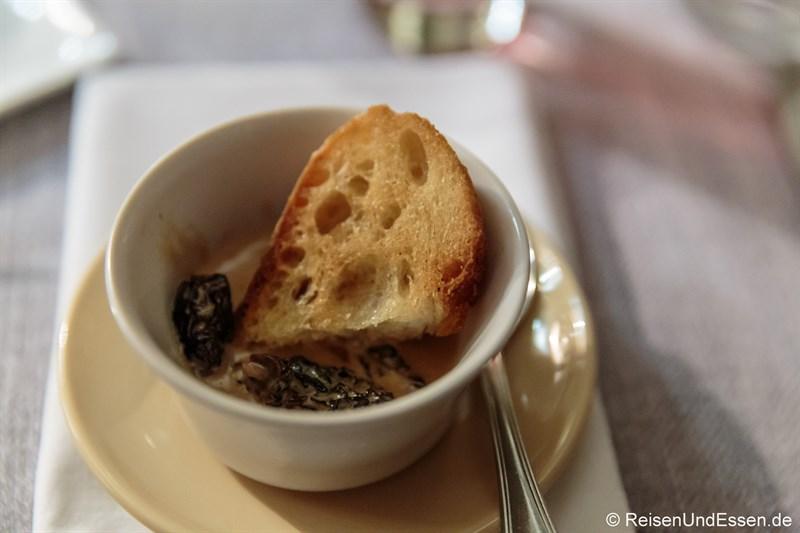 Appetizer im Hotel de France in Ornans