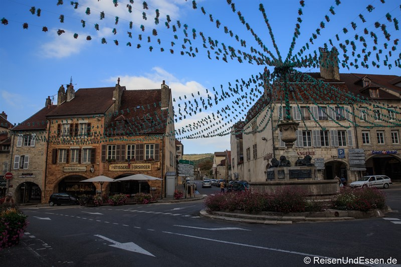 Place de la Liberte in Arbois
