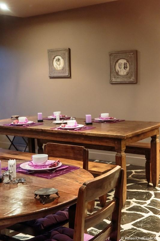 Frühstücksraum im Closerie les Capucines in Arbois