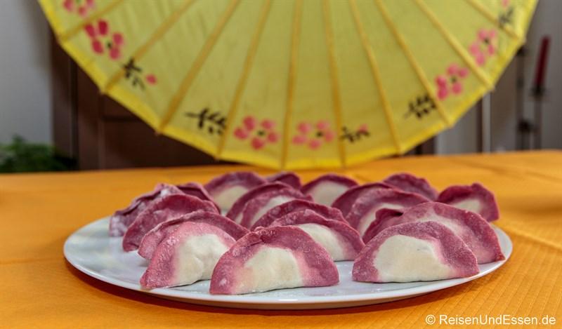 Jiaotzi zu Chinesisches Neujahr