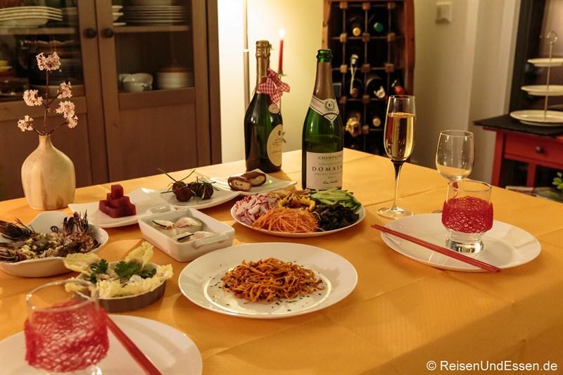 Diner zu Chinesisches Neujahr