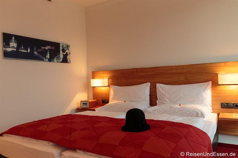 Schlafbereich der Junior Suite