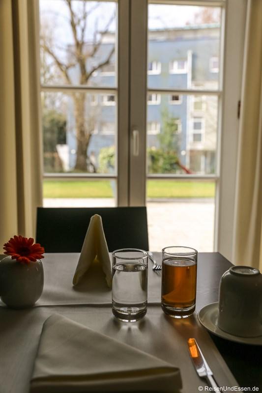 Salon für Frühstück im Arcotel Castellani Salzburg