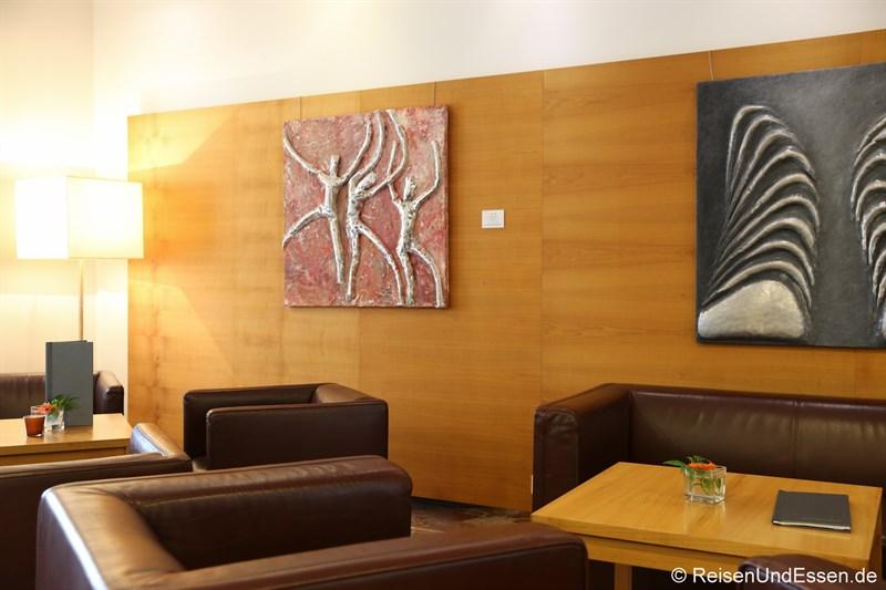 Lobby im Arcotel Castellani Salzburg