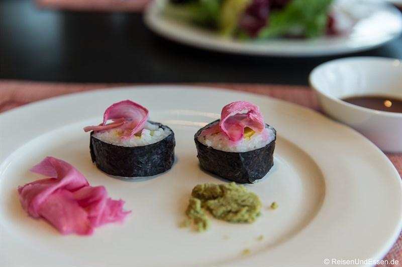 Japanisches Frühstück im Restaurant Elements