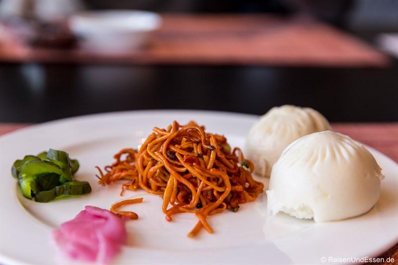 Chinesisches Frühstück im Restaurant Elements