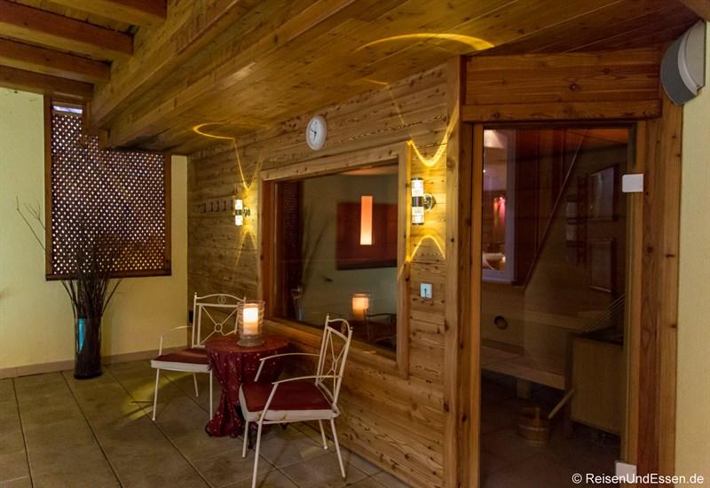 Sauna im Alpenpark Resort Seefeld