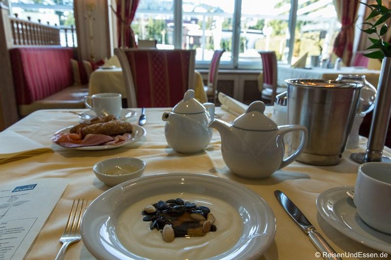 Frühstück im Hotel Alpenpark Resort Seefeld