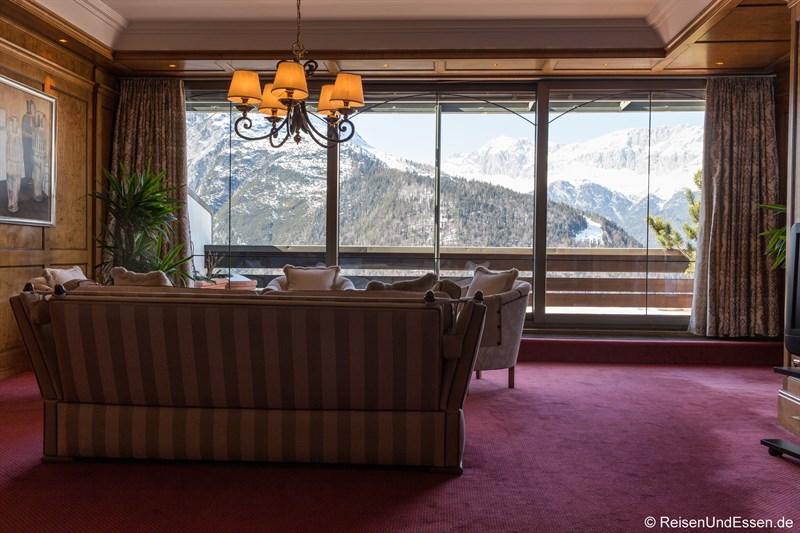 Aussicht aus der Panorama-Suite