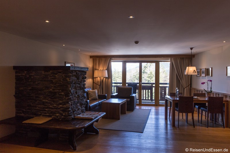 Lodge-Zimmer im Interalpen-Hotel Tyrol