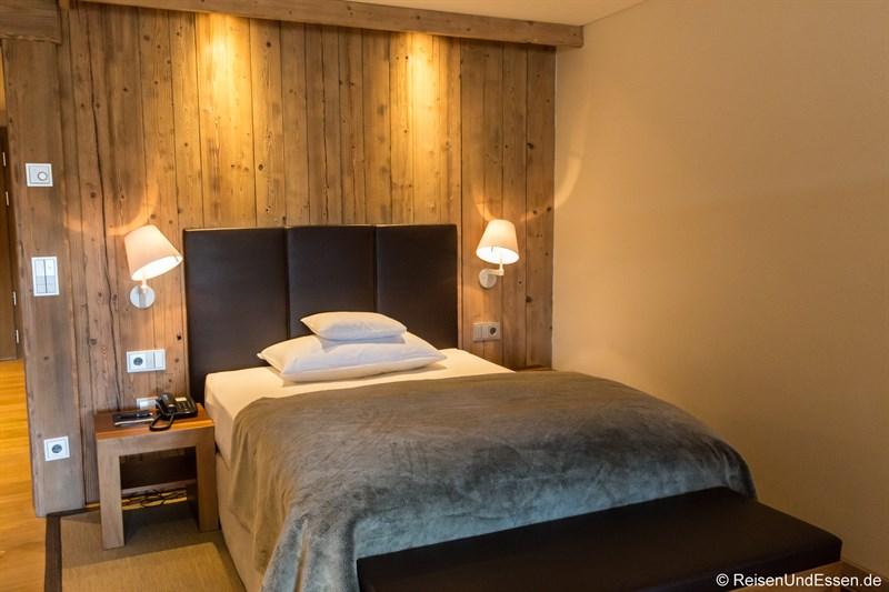Schlafraum im Lodge-Zimmer