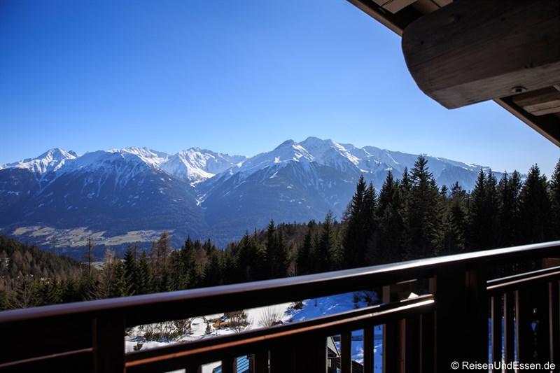 Aussicht aus dem Tiroler Zimmer
