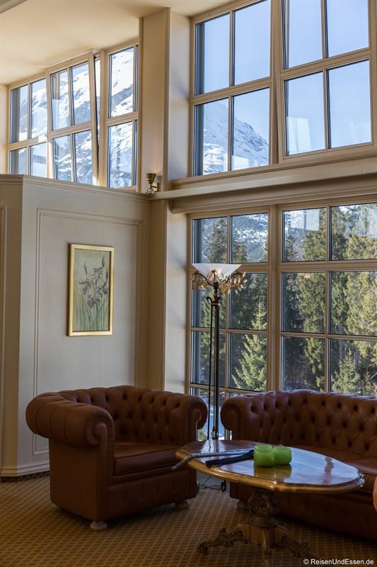Sitzecke im Interalpen-Hotel Tyrol
