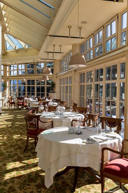 Restaurant im Interalpen-Hotel Tyrol
