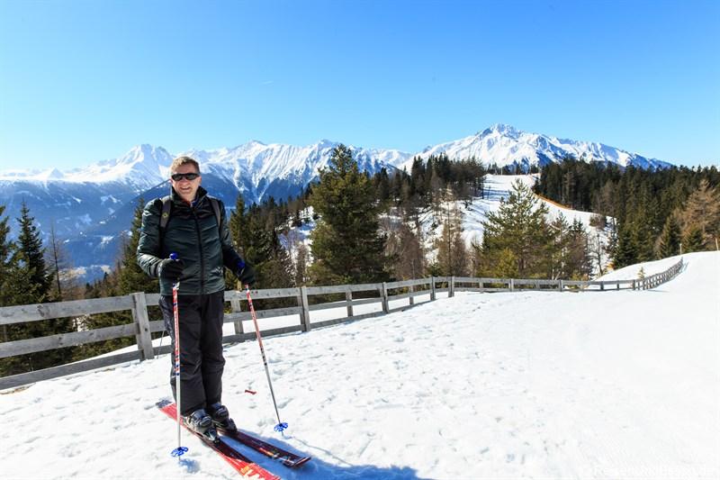 Unterwegs im Skigebiet Gschwandtkopf