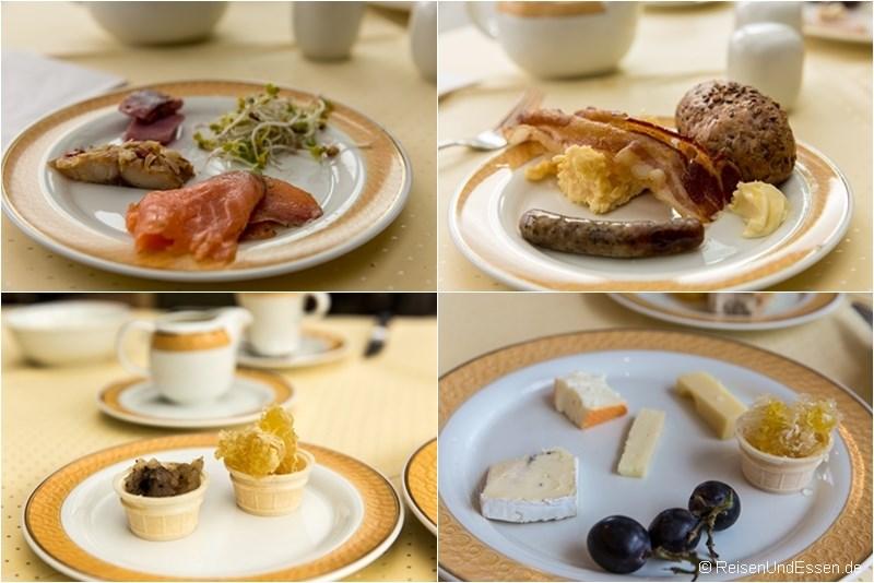 Frühstück im Maritim Hotel Dresden
