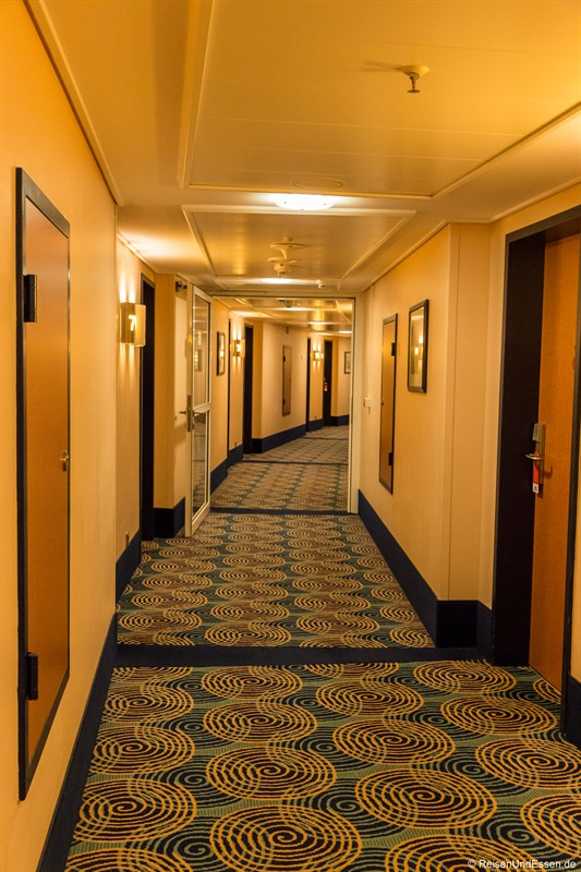 Flur im Maritim Hotel Frankfurt