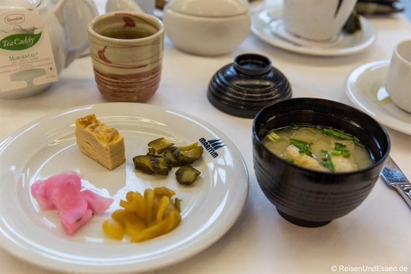 Japanisches Frühstück im Maritim Hotel Frankfurt