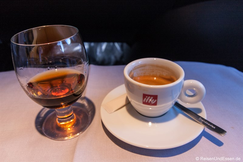 Cognac und Espresso