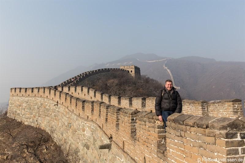 Start zur Erkundung der Chinesischen Mauer in Mutianyu