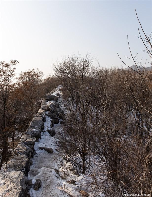 Ursprüngliche Chinesische Mauer in Mutianyu