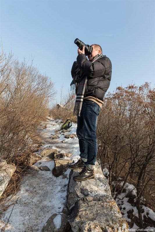 Fotopirsch auf der Chinesischen Mauer