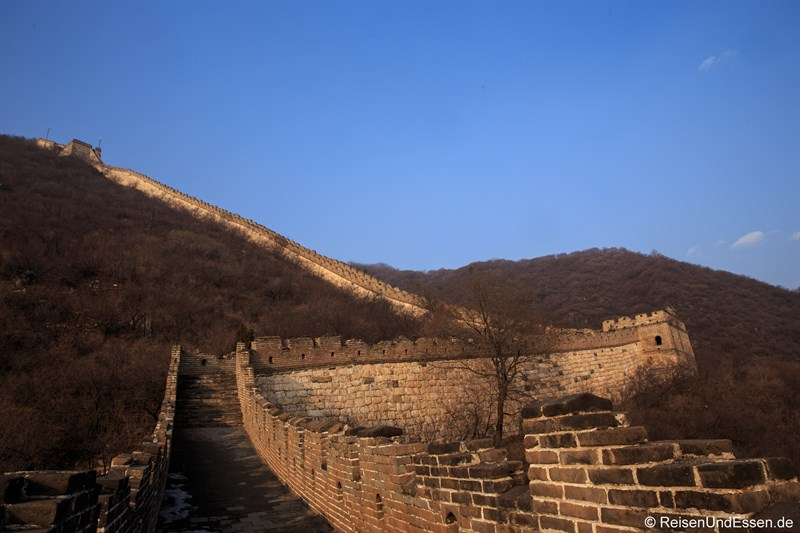 Anstieg der Chinesischen Mauer