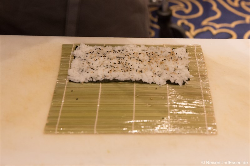 Inside-Out Sushi Rolle