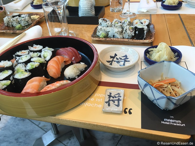 Selbst erstellte Sushi