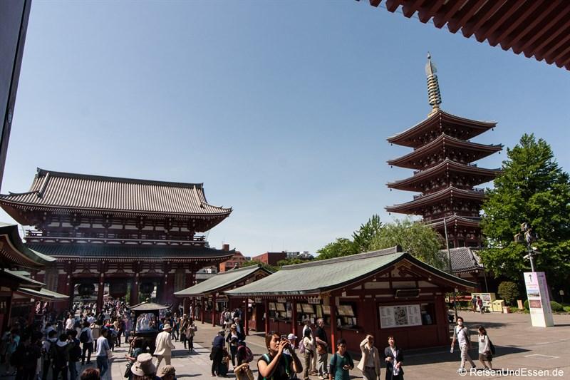 Tor zum Senso-ji Tempel und Pagode