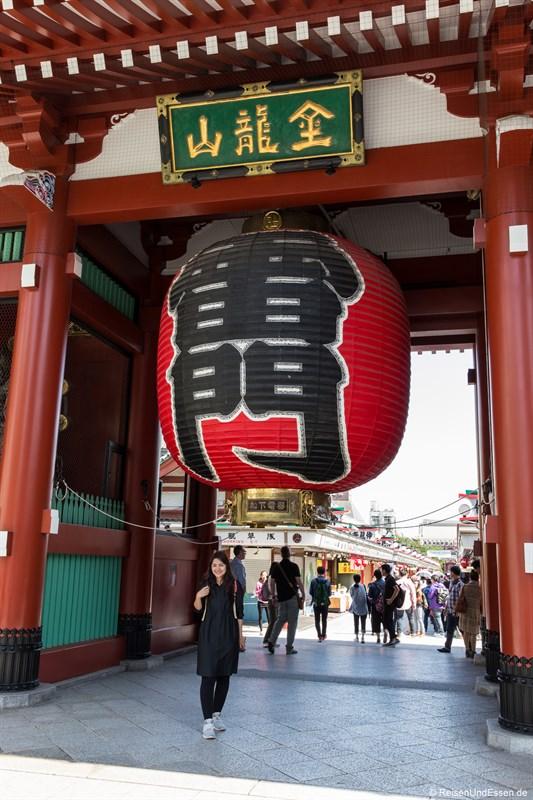 Tor zum Asakusa Bereich