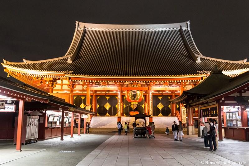 Asakusa Schrein bei Nacht