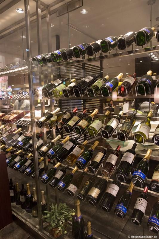 Weinlager im Hotel