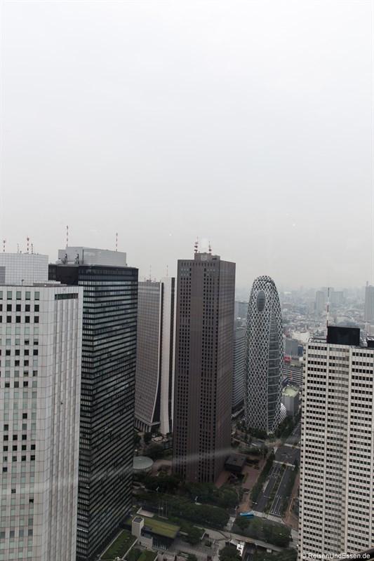 Blick auf Tokyo vom Government Building