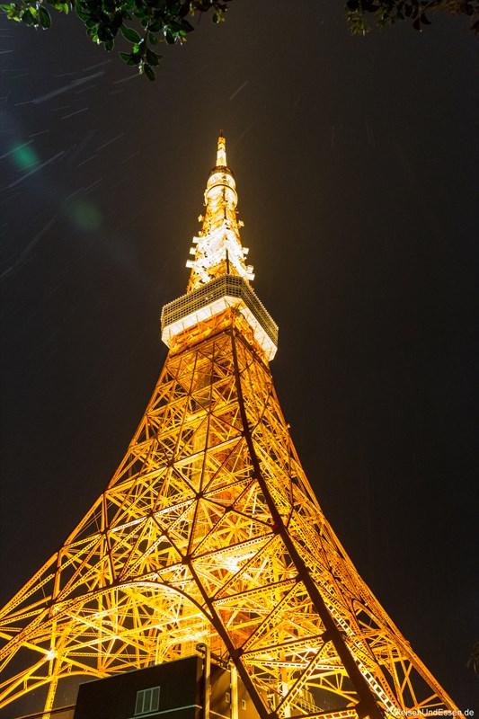 Aussichtspunkte in Tokio - Tokyo Tower bei Nacht