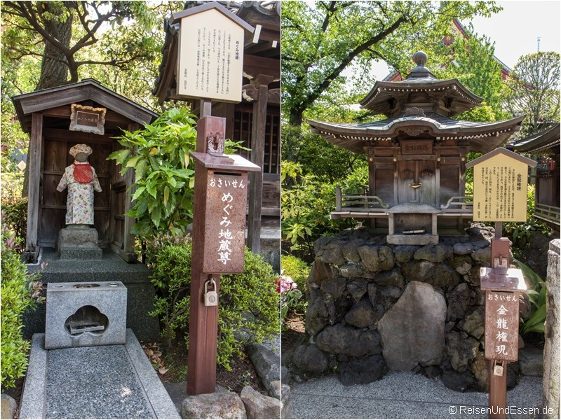 Andachtsstätte im Senso-ji Tempelbezirk