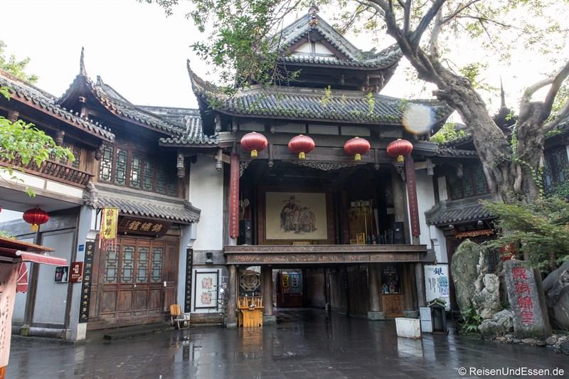 Bühne für Sichuan Oper in der Jinli Strasse