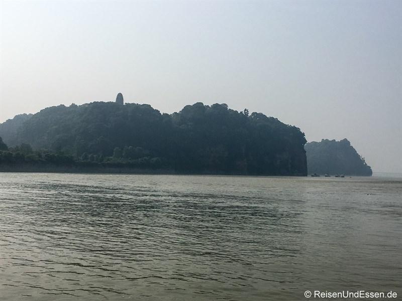 Liegender Buddha in Leshan