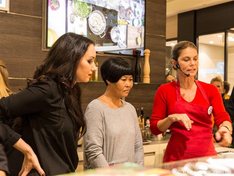 Kochen mit Sarah Wiener beim Late-Night-Shopping