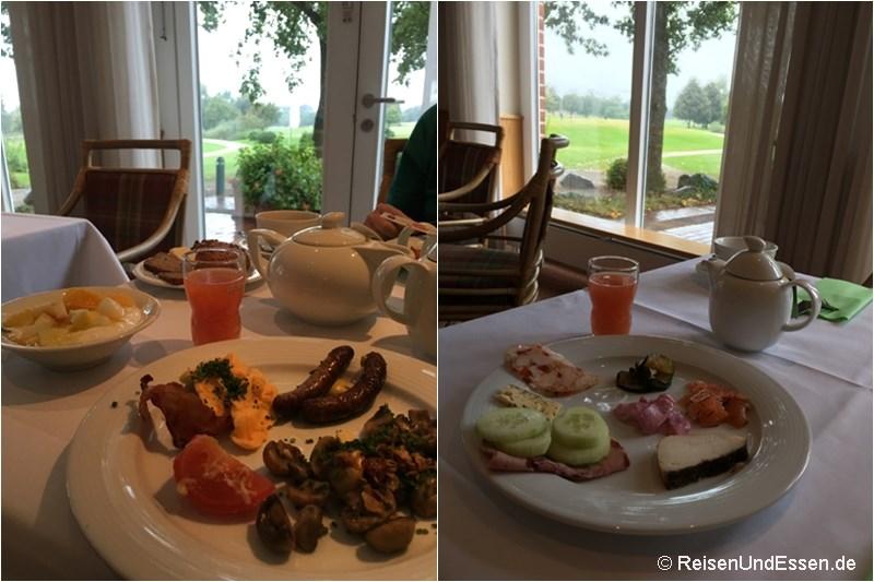 Frühstück im Steigenberger Hotel Treudelberg Hamburg