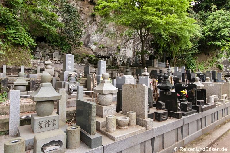 Friedhof im Tempel Jochi-ji