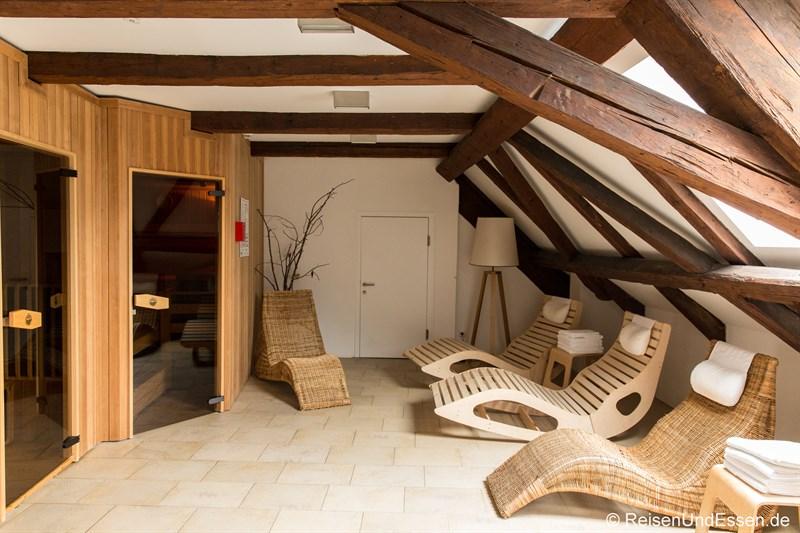 Sauna im Heritage Hotel Hallstatt