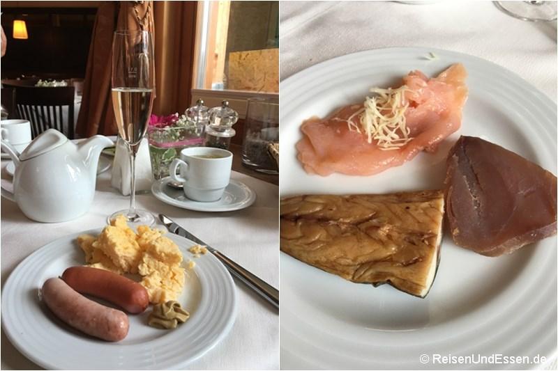 Frühstück im Heritage Hotel Hallstatt