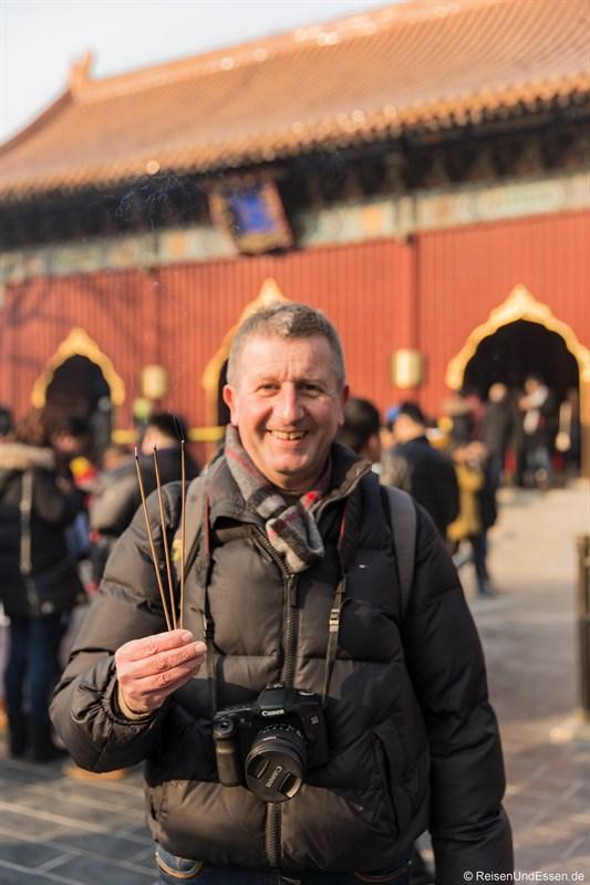 Neujahr im Lama-Tempel in Beijing - Jahresrückblick 2016