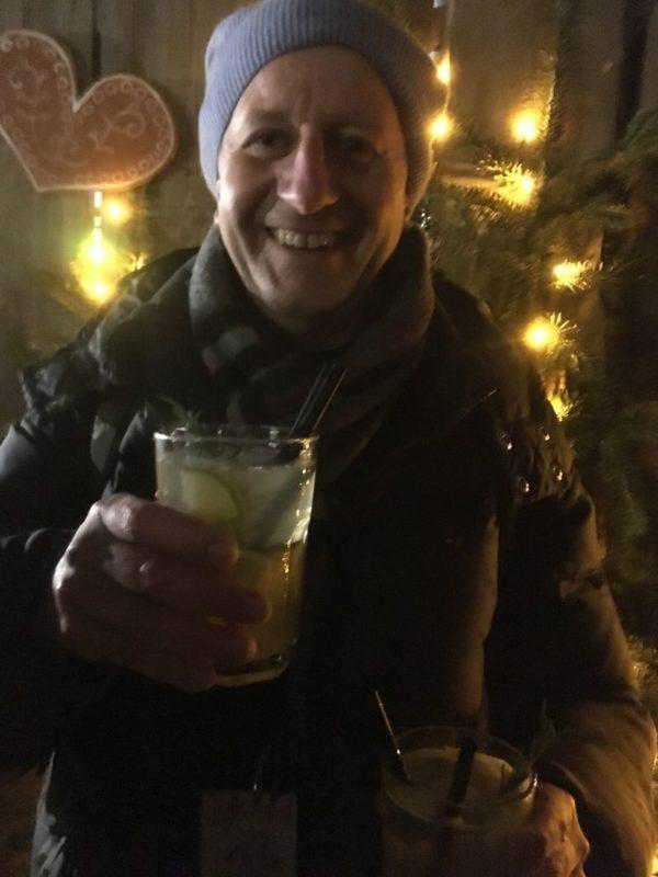 Alkoholfreie Rosmarin-Limette beim Knusperhäuschen