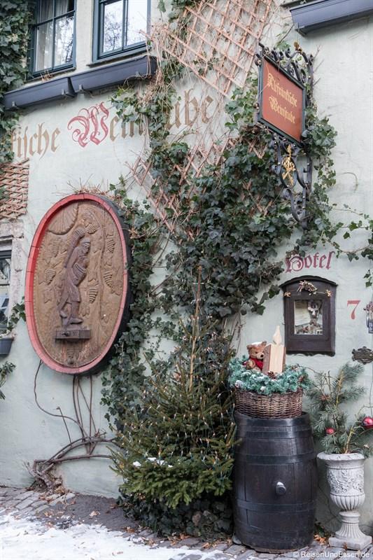 Hotel Altfränkische Weinstube in Rothenburg ob der Tauber