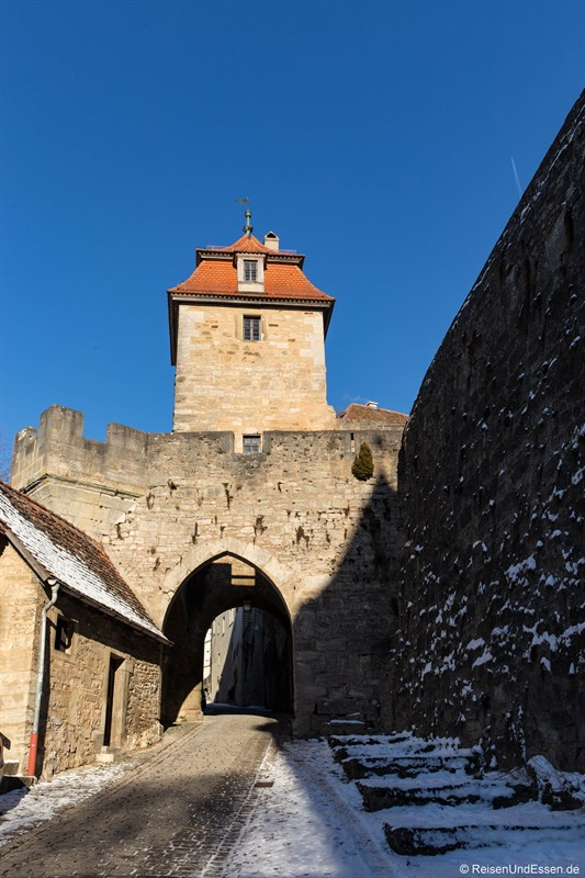 Kobolzeller Tor in Rothenburg ob der Tauber