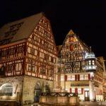 Rundgang in Rothenburg ob der Tauber zu verschiedenen Tageszeiten